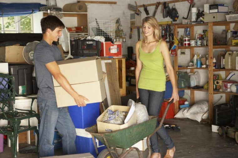 Spark Joy with spring Cleaning